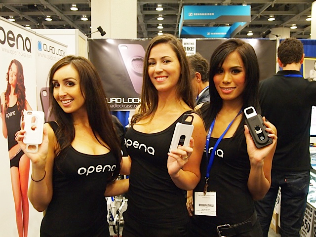 Las Vegas Trade Show Models